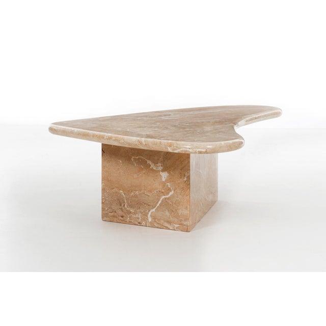 Milo Baughman Milo Baughman Marble Coffee Table For Sale - Image 4 of 12