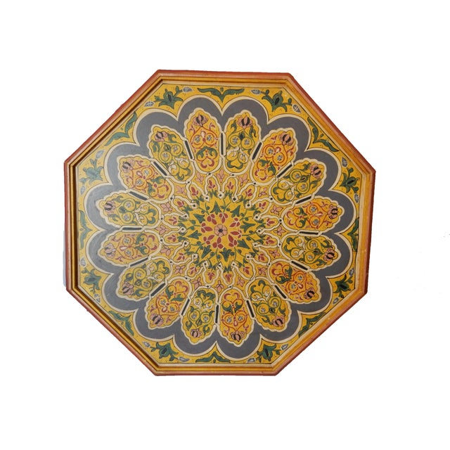 Moroccan 8 Sided Coffee Table - Image 6 of 10