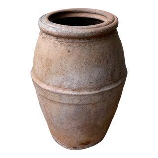 """Italian Terracotta Pot- 18.25""""h For Sale"""