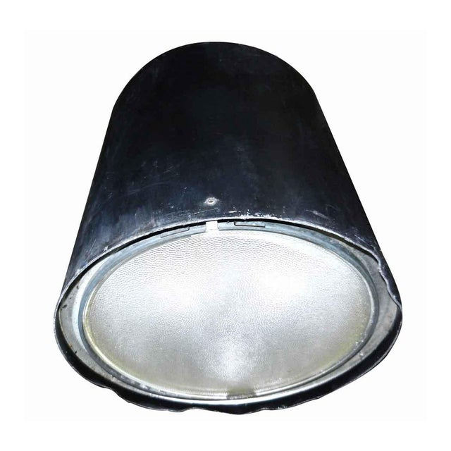 Glass Industrial Canister Stage Light For Sale - Image 7 of 7