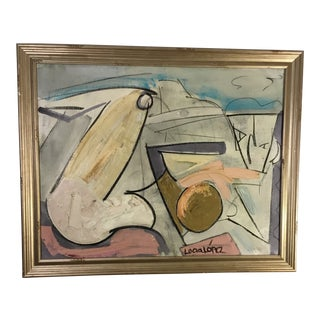 Lucia Lopez Cubist Nude #4 For Sale