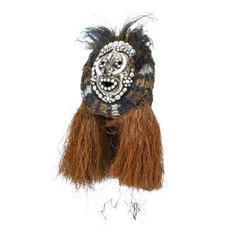 Vintage Sepik River Iatmul Png Helmet Mask For Sale