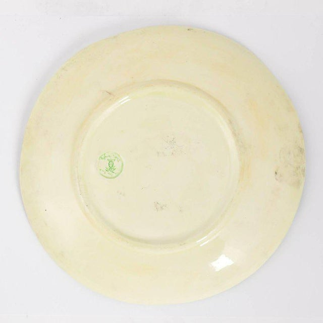 Mid-Century Modern Dodie Thayer Lettuce Side Plates - a Pair For Sale - Image 3 of 11