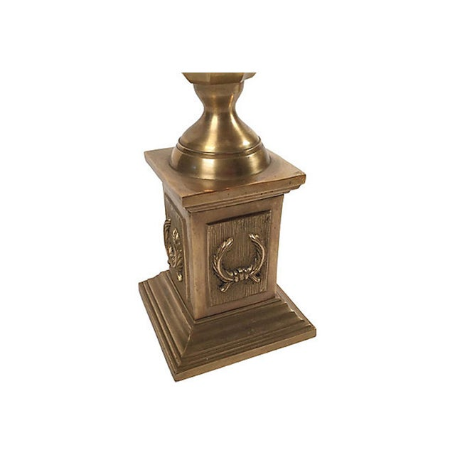 Gothic Brass Obelisk For Sale - Image 3 of 5