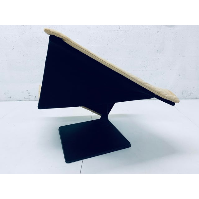 """Simon Desanta """"Flying Carpet"""" Lounge Chair for Rosenthal Einrichtung For Sale In Miami - Image 6 of 13"""