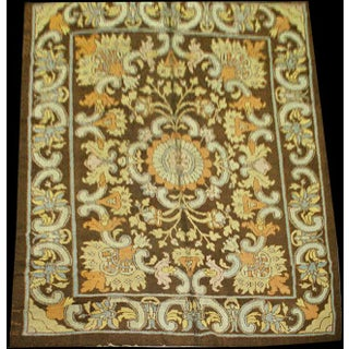 """Antique Spanish Savonnerie Rug-8'8'x11'6"""" Preview"""
