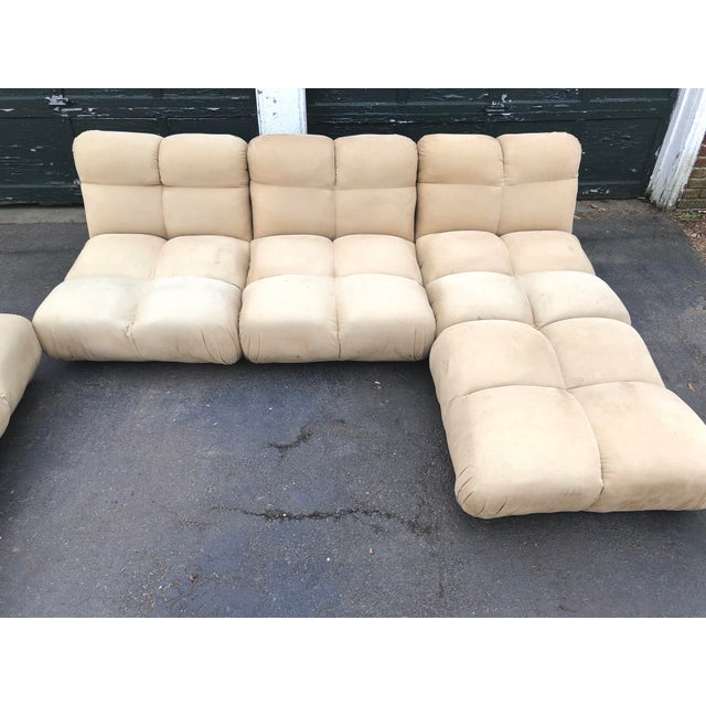 Tan 1970s Vintaeg Mario Bellini Camaleonda Style Modular Sofa For Sale - Image 8 of 13