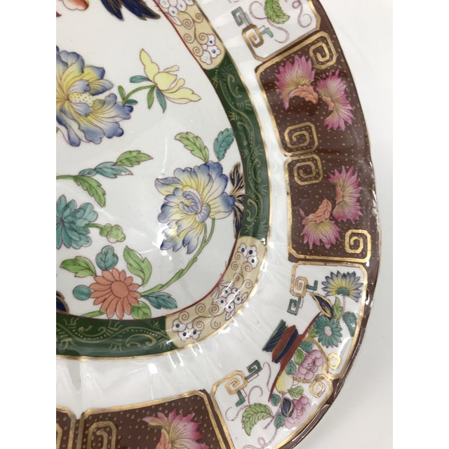 Ashworth Real Inronstone China Imari Oval Platter For Sale In Charlotte - Image 6 of 7