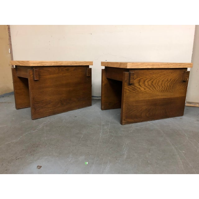 Mid-Century Modern 1970s Mid Century Modern Lane End Tables - a Pair For Sale - Image 3 of 9