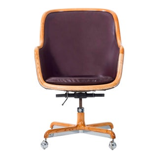 Ward Bennett Executive Desk Chair For Sale