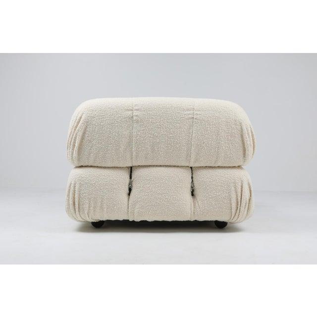 Mario Bellini Camaleonda Bouclé Wool Sectional Sofa by Mario Bellini For Sale - Image 4 of 8
