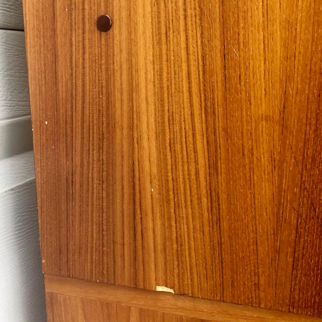 Wood Scandinavian Modern Teak Filing Cabinet From Jesper For Sale - Image 7 of 13