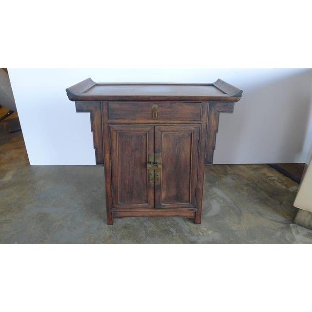 Pair of Wood Chinese Side Cabinets - Image 3 of 9