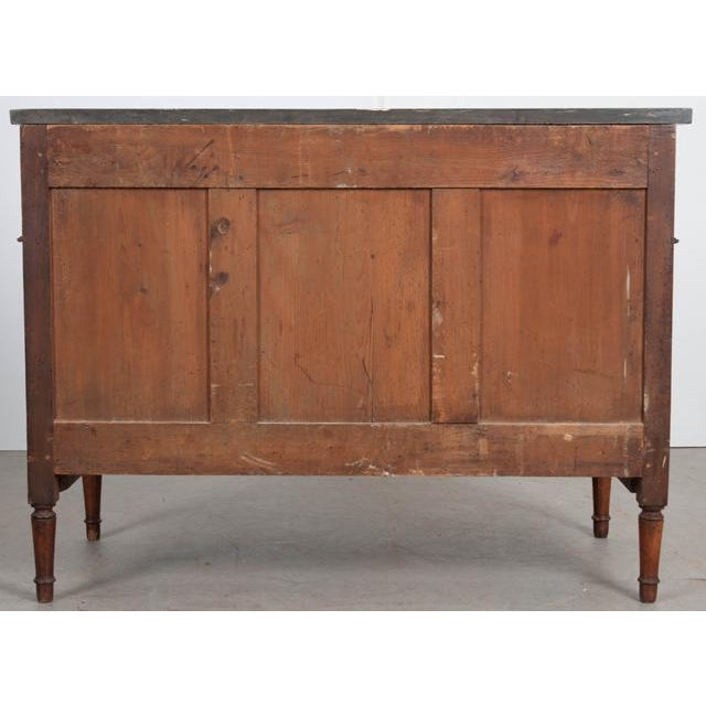 French 19th Century Louis XVI Walnut Commode For Sale - Image 11 of 12