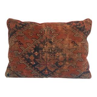 Antique Large Heriz Pillow