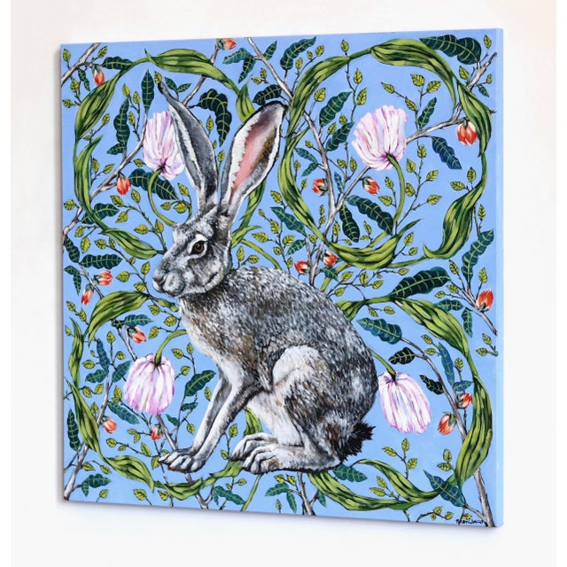 """Jack Rabbit"" Original Artwork by Naomi Jones For Sale In Los Angeles - Image 6 of 9"