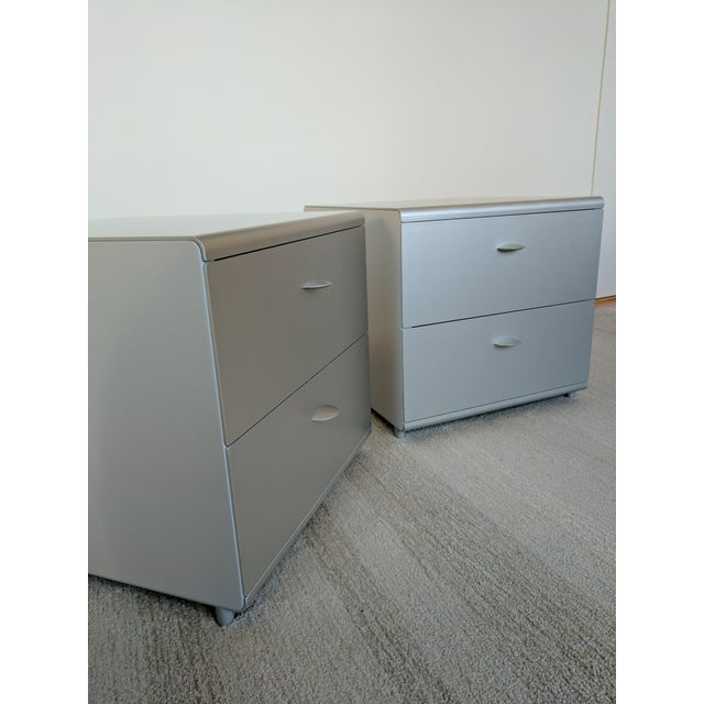 Contemporary Jesus Gasca For Stua Spanish Two Drawer Side Tables - A Pair For Sale - Image 3 of 7