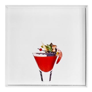 'Bloody Geisha' Limited-Edition Cocktail Portrait Photograph For Sale