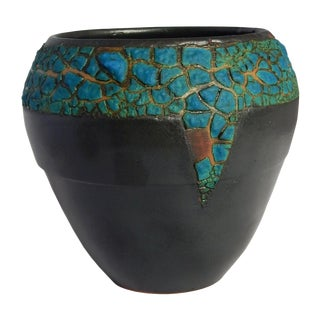 Aubergineware Ceramic Urn #18 by Andrew Wilder For Sale