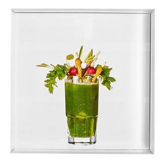 'Green Mary' Limited-Edition Cocktail Portrait Photograph For Sale