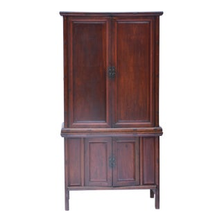 19th Century Chinese Camphor Wood Cabinet