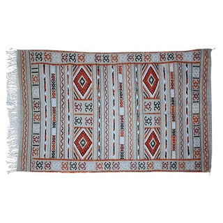 """Moroccan Berber Rug - 3'8"""" X 6'3"""" For Sale"""