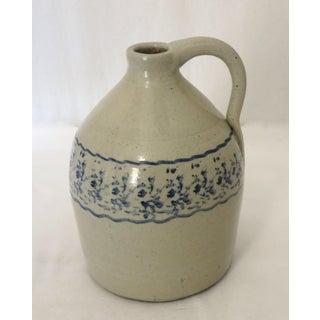 Antique American Stoneware 1/2 Gallon Liquor Jug Preview