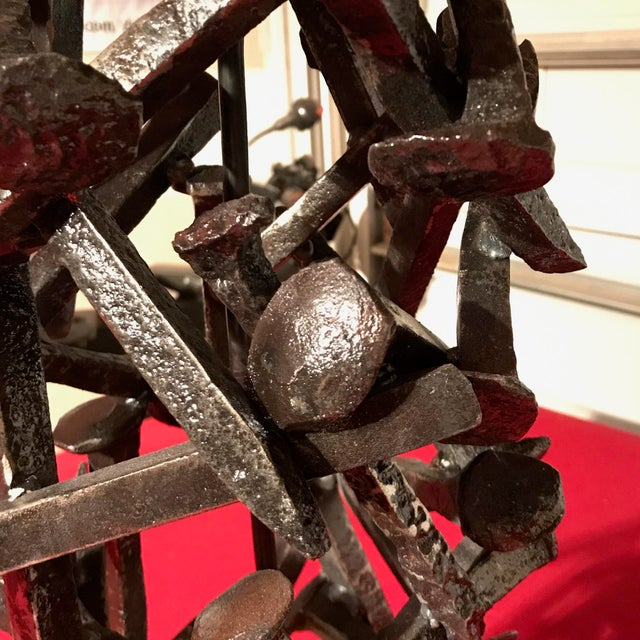 Railroad Spike Salvage Lamp - Image 3 of 5