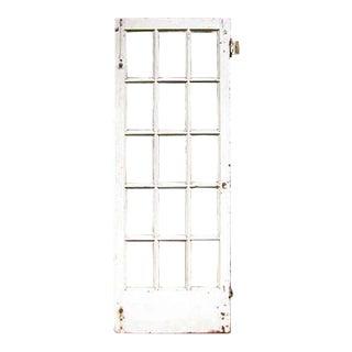 Fifteen Lite Painted White Oak French Door