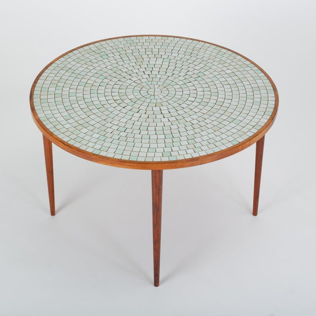 Tile-Top Walnut Dining Table by Gordon & Jane Martz for Marshall Studios For Sale In Los Angeles - Image 6 of 13