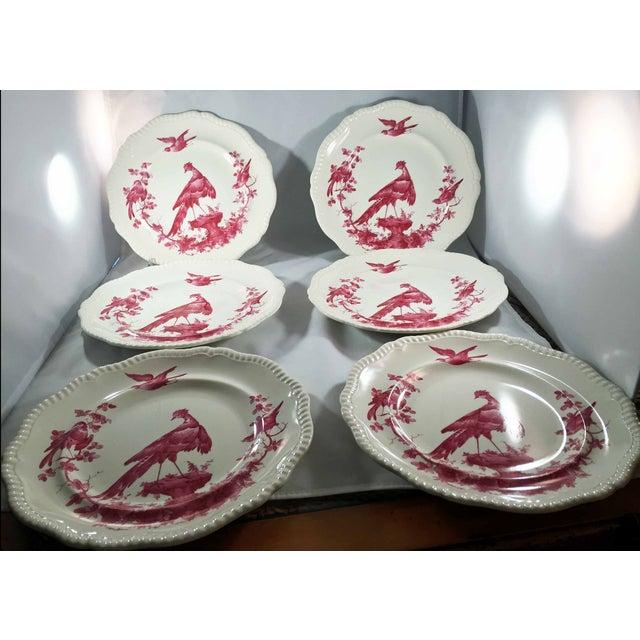 Copeland Spode Black Bird Dinner Plates - Set of 6 For Sale - Image 7 of 7