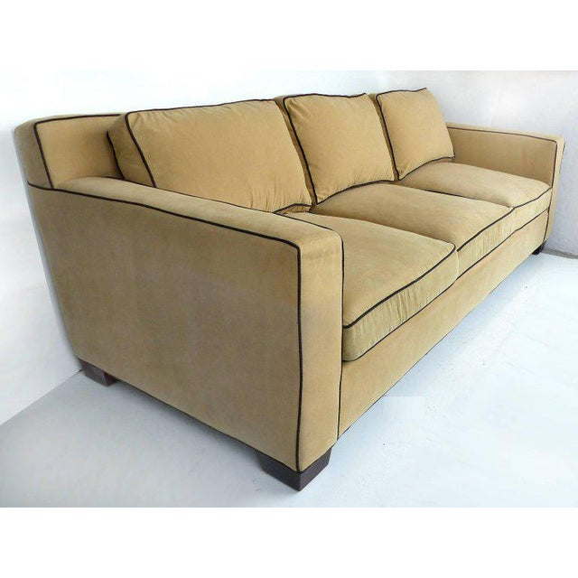 American Classical Ralph Lauren Graham Sofa with Down Cushions by Henredon Furniture For Sale - Image 3 of 10