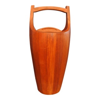 Early Teak Ice Bucket by Jens Quistgaard for Dansk For Sale