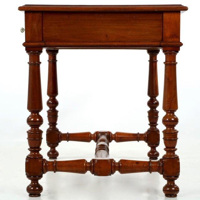 English Mahogany Writing Desk - Image 3 of 11