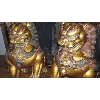 1960's Vintage Cast Iron Foo Dogs-a Pair Preview
