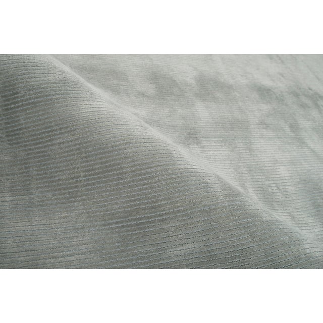 Contemporary Stark Studio Rugs Contemporary Oriental Silk and Wool Rug - 12 X 15 For Sale - Image 3 of 5
