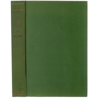 Bambi: A Life in the Woods, 1st Edition