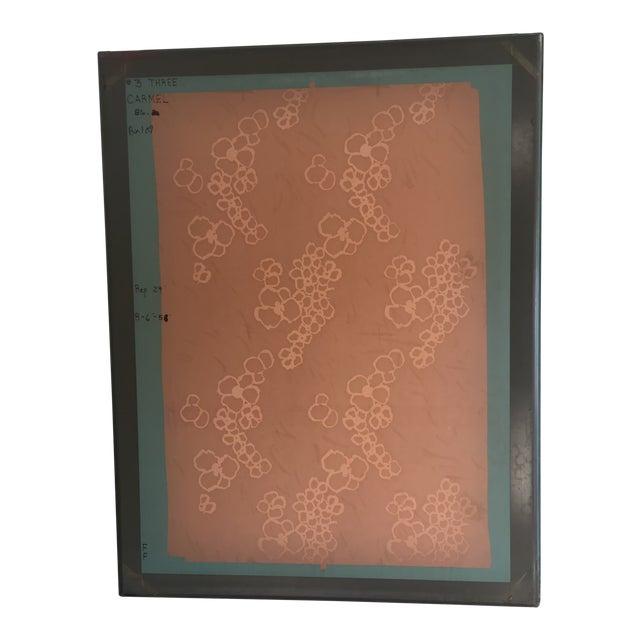 """Coral #3"" Screen Press Print For Sale"