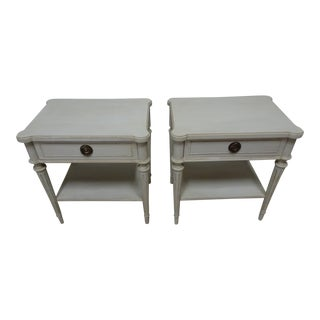 Swedish Gustavian Night Stands For Sale