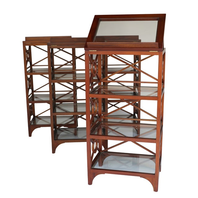 Vintage Library Stand For Sale - Image 5 of 5