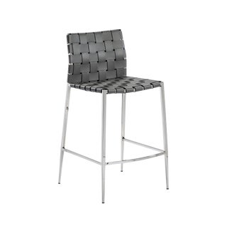 Logan Counter Stool - Grey For Sale