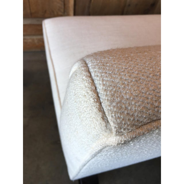 Vintage Mid Century Edward Wormley for Dunbar Slipper Sofa For Sale - Image 12 of 13