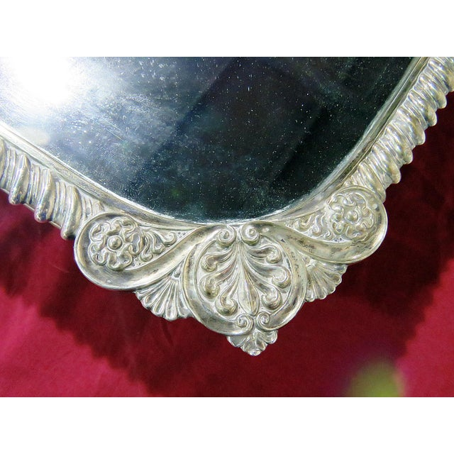 Victorian Style Mirrored Plateau For Sale - Image 4 of 9