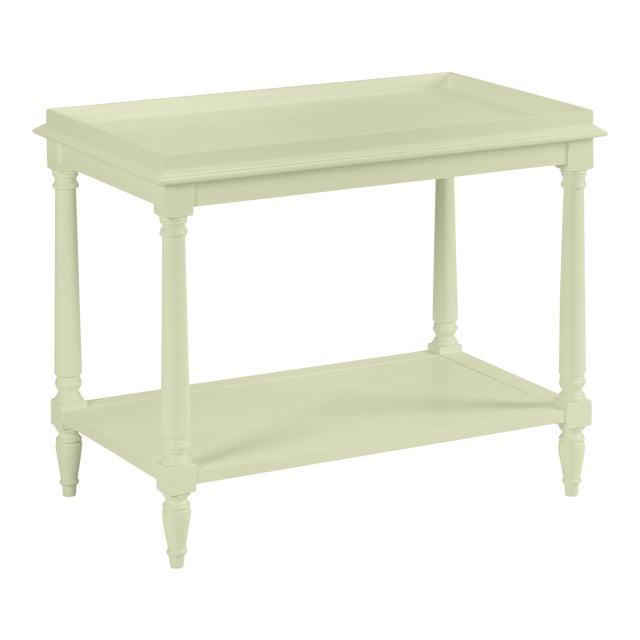 Casa Cosima Revere Side Table, Guilford Green For Sale