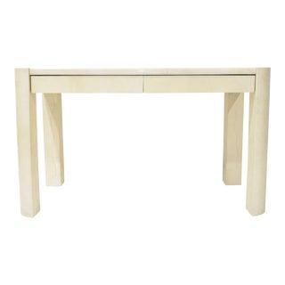 1970s Modern Angled Leg Table or Desk by Karl Springer For Sale