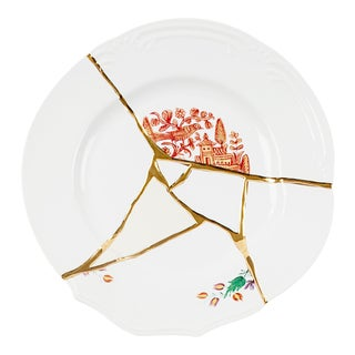 Seletti, Kintsugi Dinner Plate 1, Marcantonio, 2018 For Sale