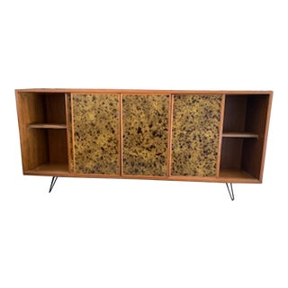 1960s Mid-Century Modern Walnut Credenza For Sale