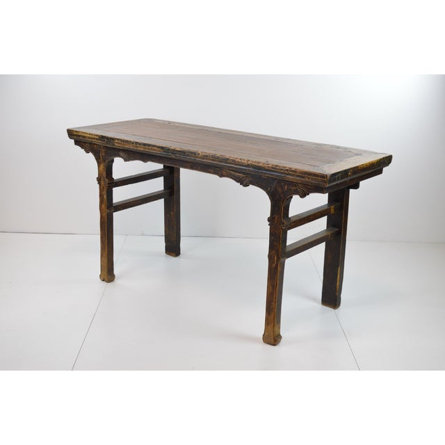 Rustic Antique Chinese Console Table - Image 8 of 10