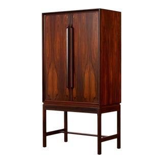 Torbjørn Afdal Rosewood Bar Cabinet For Sale