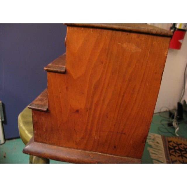 Early Original Graduated Apothecary Drawers - Image 5 of 11